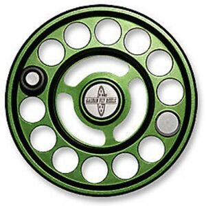 NEW GALVAN R-6 SPARE SPOOL FOR RUSH LT 6 FLY REEL GREEN FOR 6-7 WT FREE SHIPPING