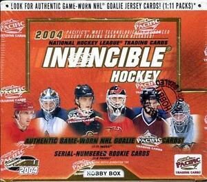 2003/04 PACIFIC INVINCIBLE HOBBY SEALED BOX HOCKEY