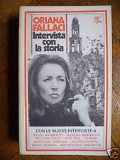 Oriana FALLACI - INTERVISTA CON LA STORIA , Bur 1978