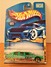 Hot Wheels 2001 Turbo Taxi Series Limozeen Green #054 2/4 Set Series. VGC
