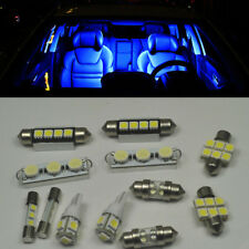 18 x Blue LED interior Bulbs + License Plate Lights for Dodge Charger 2011-2016