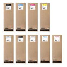 9 X Original Encre Epson Stylus Pro 11880 par 700ml T5911 -t5919 CARTOUCHE Jeu