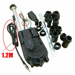 1x Car Electric Aerial Automatic Antenna Universal Replacement Fitting Kit New