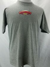 Cal Cru UFO Graphic Gray and White stripes Tee RN41253