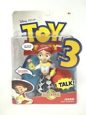 Disney Pixar Toy Story 3 Jessie Deluxe Electronic Talking Action Figure 2009