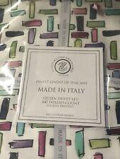 tessitura lines toscana telerie firenze floral print gouache  Queen duvet Set