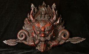 Chepphu mask hanging Resin 24cm