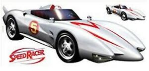 Speed Racer Mach 5 Peel Stick Giant Wall Decal Toy Hobby Vehicle Sport Play