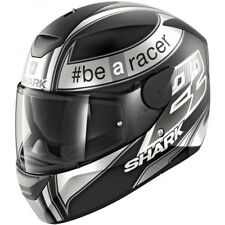 Casco, Helmet, SHARK D-SKWAL Sam Lowes Mat Black / Anthracite / White T. L