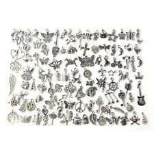 Wholesale 100x Bulk Lots Tibetan Silver Mix Charm Pendants Jewelry DIY EP