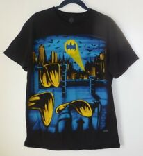 Men's T-Shirt,Batman,Size M,Black,Short Sleeve,Graphic Tee,Women,DC Comics