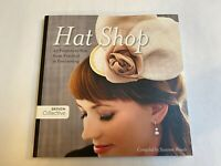 Hat Shop design book include 25 hat projects to sew + pattern by Susanne Woods
