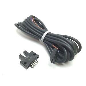 "Omron EE-SX670P Photoelectric Sensor, Sensing Distance: 0.197"" 5mm, 5-24V 12mA"