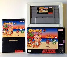 Spanky's Quest - Mint Cartridge - Rare - Complete In Box - SNES - Tested