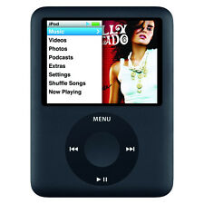 Apple iPod Nano 3rd Generation Black (8GB)