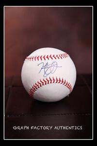 GFA Boston Red Sox HENRY OWENS Signed MLB Baseball H3 COA