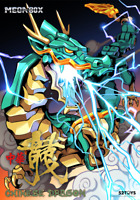 New 52Toys Megabox MB-14 Chinese Dragon Action Figure Toy instock