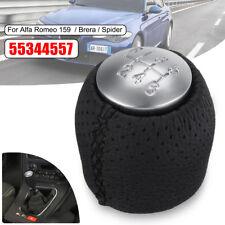 For Alfa Romeo 159 05-11 Brera Spider 6 Speed Gear Knob Stick Shift Knob Cap