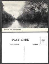 Old Minnesota Postcard - Twin Cities - Minnesota River