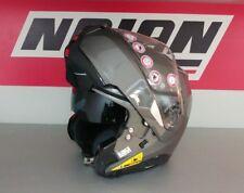 NOLAN N100-5 CLASSIC 004 LAVA GREY FLIP FRONT MOTORCYCLE HELMET