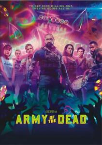 Army of the Dead - Action Crime Horror  (2021) DVD