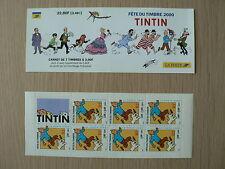 FETE DU TIMBRE 2000-TINTIN-HERGE - BD - LA POSTE