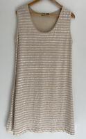 BAKER ST NZ gorgeous 100% Linen Tank Dress Tunic Size XL