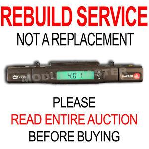Rebuild Repair for 95 96 97 Jag Jaguar XJ6 XJR XJ12 X300 LCD Digital Clock