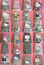 Hello Kitty My Melody Cell Iphone Plus Power Bank Padded Cloth Pouch Case New