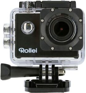 Rollei 4K Action Cam 610 Kamera UHD WIFI Helmkamera wasserdicht 170° Weitwinkel