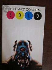 Solo #2 - Richard Corben art - Underground art - horror, science fiction comic