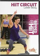 EXERCISE DVD - Cathe Friedrich RIPPED WITH HIIT Lower Body Circuit!