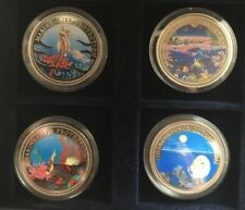 The Palau Marine Life Coloured Coins | Coin Sets | Pennies2Pounds