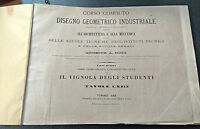 Tavole LXIII Architettura Giuseppe A. Boidi disegno geometrico industriale 1865