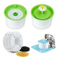 6pcs Pet Water Dish Fountain Filters Cat Dog Drinking Replacement Flower R0V4