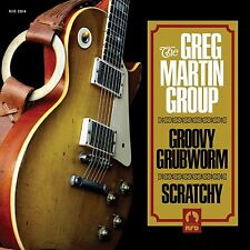 "GREG MARTIN GROUP - Groovy Grubworm - 2014 UK 2-track 7"" YELLOW VINYL single p/s"