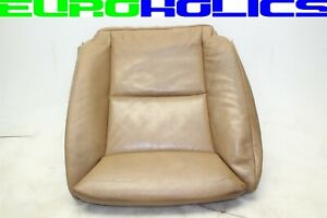 OEM BMW E60 528i 04-10 Front Left Driver Seat Lower Cushion BROWN Leather SPORT