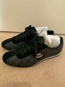 Coach black sneakers size 37 NWOT