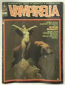 VAMPIRELLA #7 Warren 1970 FR Beat but Complete