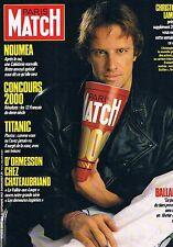 Paris Match  N°2000  25 Sep 1987:Noumea Titanic D'ormesson Christophe lambert Ba
