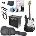 E-Gitarren Set, 20 watt Amp, gig bag, 2 pics, Tuner, Karaoke CD, DVD, gurt... for sale