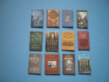 Dolls House miniatures accessories - Charles Dickens books x 12