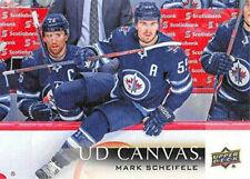 2018-19 Upper Deck Series 2 UD Canvas #C207 Mark Scheifele - Winnipeg Jets