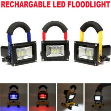 60W Portable Rechargeable 30 LED Work Light Cordless Flood light Spotlight Lamp