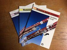 """Yamaha Band Student Bassoon Books 1, 2 & 3 """"NEW"""""""