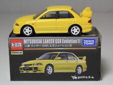 TOMICA PREMIUM MITSUBISHI LANCER GSR EVOLUTION 3 YELLOW 1/61 TAKARA TOMY JAPAN