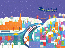 Bristol in the Snow - Jenny Urquhart Charity Christmas Cards - CCS Adoption