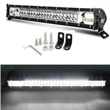For ATV SUV Offroad 20''300W 12/24V LED Fog Light Bar Dual Row Spot Flood Combo