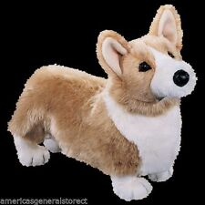 "CHADWICK Douglas Cuddle 19"" plush TAN CORGI DOG stuffed animal toy"