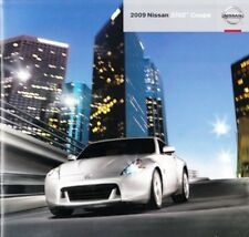 2009 09 Nissan 370Z Coupe original sales brochure Mint